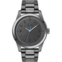 Relógio Hugo Boss Masculino Couro Cinza - 1530119