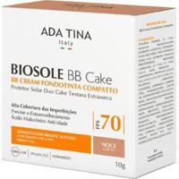 Protetor Solar Anti-Idade Ada Tina Biosole Bb Cake Fps 70 Noce - Unissex-Incolor