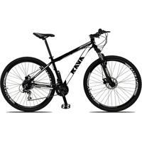 Bicicleta Aro 29 Rava Pressure 24V Câmbio Shimano Altus Freio A Disco Hidráulico Suspensão Com Trava - Unissex