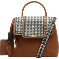 Handbag Triangle Mini Wallet Brown | Schutz