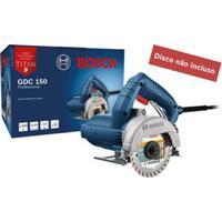 Serra Mármore Elétrica 127V 1500W Gdc 150 Standard Azul Bosch