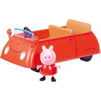 Veículo E Mini Figura - Peppa Pig - Carro De Família Da Peppa - Dtc