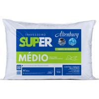 Travesseiro Altenburg Super Médio 100% Algodão - Branco Branco