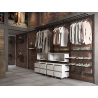 Closet Aramado - Ambiente 02 Com 2,50 Preto - Getama Moveis