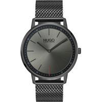 9580f651bc7 Relógio Hugo Boss Masculino Aço Cinza - 1520012