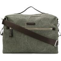 Orciani Branded Duffel Bag - Green