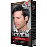 Biocolor Homem Loção Castanho Escuro Kit