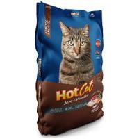 Ração Para Gatos Hotcat Mix Sem Corantes Adulto E Filhotes Sabor Peixe, Carne E Vegetais 1Kg