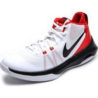 Tênis Nike Air Versitile Branco/Vermelho/Preto