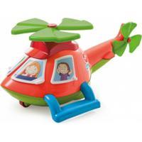 Helicóptero Calesita Helico Laranja - Tricae