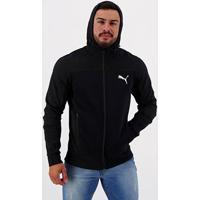 Jaqueta Puma Evostripe Hooded Jacket Masculina - Masculino-Preto