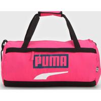 Bolsa Puma Plus Sports Bag Ii Rosa