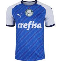 Kit Do Palmeiras Com Gravura E Camisa Edição Especial Libertadores 1999 Puma - Masculina - Azul