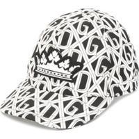 Dolce & Gabbana Kids Boné Com Estampa De Logo - Preto
