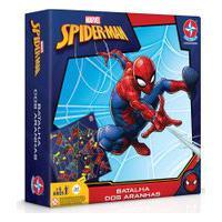 Jogo De Tabuleiro - Disney - Marvel - Spider-Man - Estrela