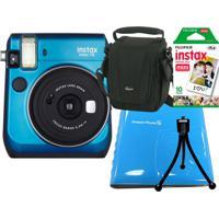 Câmera Fujifilm Azul