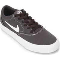Tênis Nike Sb Charge Canvas - Unissex-Chumbo+Branco