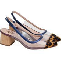 Sapatos Saltare Emily Feminino - Feminino-Marinho