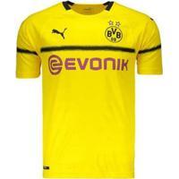 Camisa Puma Borussia Dortmund 2019 Cup Masculina - Masculino