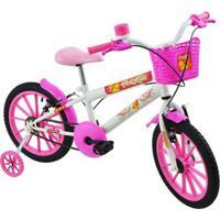 Bicicleta Infantil Feminina Aro 16 Polikids - Unissex