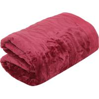 Cobertor Queen Corttex Home Design Cervinia Ornare Vermelho 90f64c70d0a2a