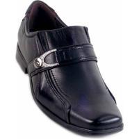 Sapato Social Pegada Masculino Mestiço Preto - Unissex