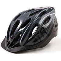 Capacete Atrio Para Ciclismo Mtb 2.0 Com Led Traseiro 19 Entradas De Ventilação - Unissex