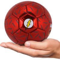 Minibola De Futebol De Campo Liga Da Justiça Flash - Infantil - Vermelho