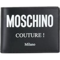 Moschino Carteira Couture! - Preto