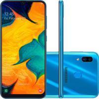 Smartphone Samsung Galaxy A30 64Gb A305 Desbloqueado Azul
