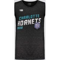 Regata Nba Charlotte Hornets Especial Inox Masculina - Masculino
