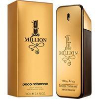 Perfume Masculino One Million Paco Rabanne Eau De Toilette 100Ml - Masculino-Incolor