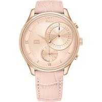 Relógio Tommy Hilfiger Feminino Couro Rosa - 1782178