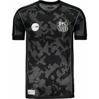 Camisa Kappa Santos Iii 2017 27 B. Henrique - Masculino