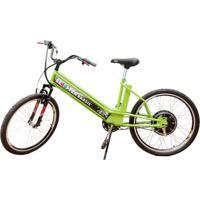 Bicicleta Elétrica Scooter Brasil Mtb 800W 48V 12Ah Verde