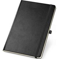 Caderneta De Anotações Topget 12X18Cm 80 Folhas Sem Pauta - Preto