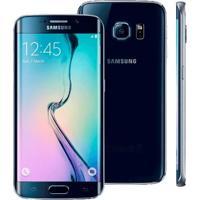"""Smartphone Samsung Galaxy S6 Edge Preto - 32Gb - Octa Core - Câmera 16Mp - 4G Lte - Super Amoled 5.1"""" - Android 5.0"""