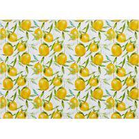 Amaro Feminino Easy Home Design Kit Jogo Americano, Limão Siciliano Amarelo