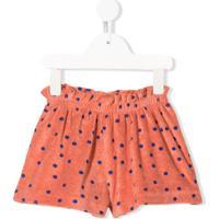 Bobo Choses Polka Dot Print Shorts - Laranja