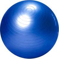 Bola De Ginastica Suíça Gym Ball - 65Cm - Azul - Mbfit - Unissex