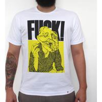 Fuck - Camiseta Clássica Masculina