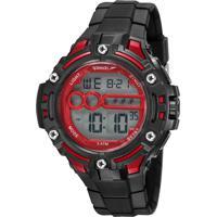 Kit De Relógio Digital Speedo Masculino + Carregador Portátil - 81206G0Evnp2Ka Preto