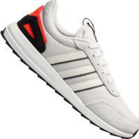 Tênis Adidas Retrô Run Classic - Masculino - Cinza Cla/Branco