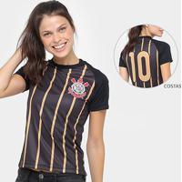 Camisa Corinthians Golden - Edição Limitada Feminina - Feminino