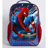 Mochila Escolar Infantil Estampa Homem Aranha Marvel