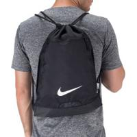 Gym Sack Nike Brasilia 9.0 - Preto/Branco