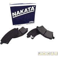Pastilha Do Freio - Nakata - Corolla 2003 Até 2008 - Fielder - Sistema De Freio Trw - Dianteiro - Jogo - Nkf-1186P