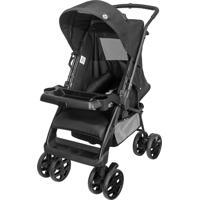 Carrinho De Bebê Reversivel Tutti Baby Black