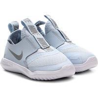 Tênis Infantil Nike Flex Runner Td - Unissex-Azul+Prata
