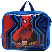 Lancheira Sestini Spiderman Vermelha/Azul